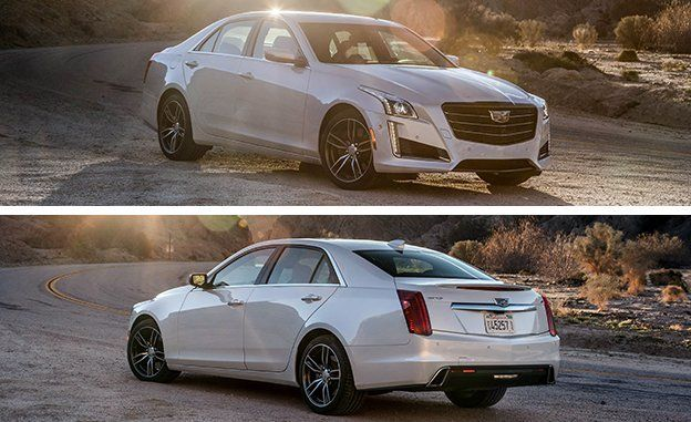2017 Cadillac Cts V Sport Tested Review Car And Driver