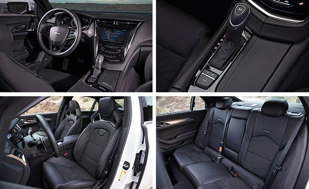 2017 Cadillac CTS VSport Tested  Review  Car and Driver