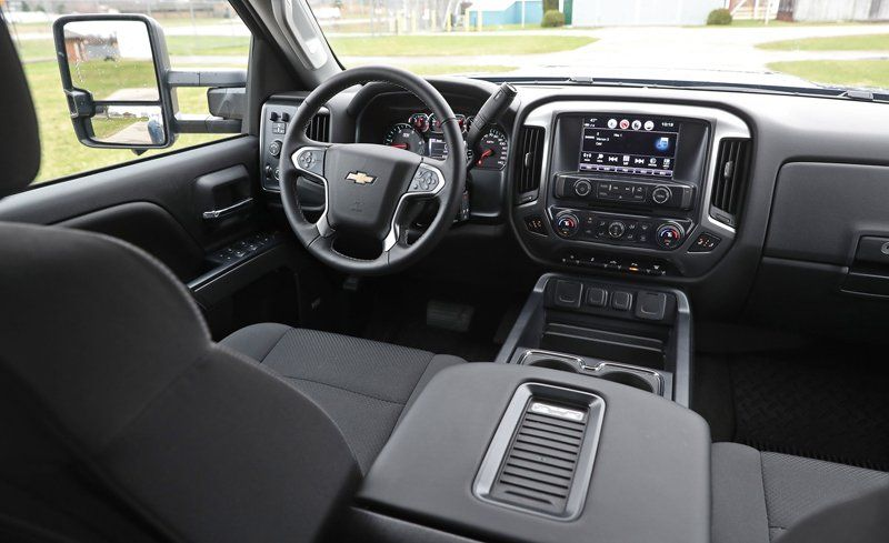 2018 Chevrolet Silverado 2500hd 3500hd Interior Review Car And