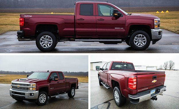 2017 Chevrolet Silverado 2500hd 4x4 Diesel Tested Review Car And