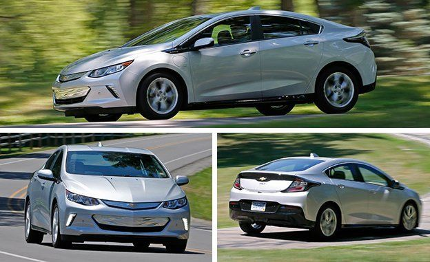 The Volt Falls Closer To Prius End Of Spectrum As A Sleek Four Door Hatchback With 1 5 Liter Cylinder Engine And Two Ac Motor Generators For