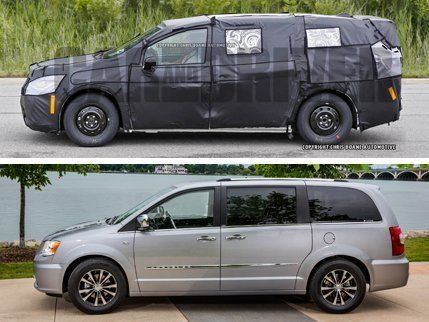 Top 2017 Chrysler Town Country Spy Photo Bottom 30th Anniversary Edition