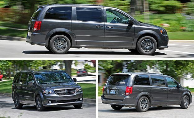 2017 Dodge Grand Caravan Test Review Car And Driver