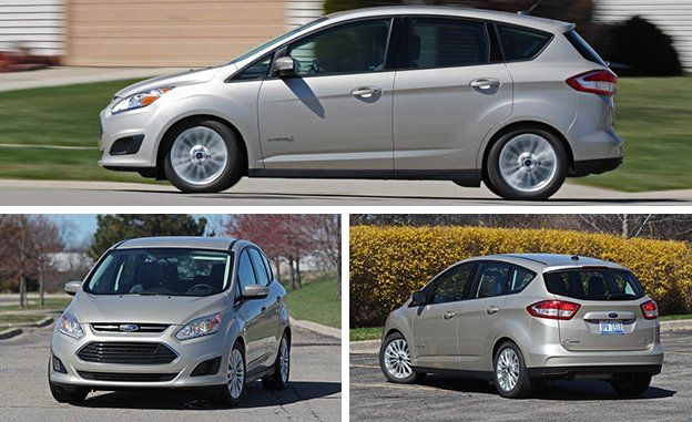 Lies To The C Max S Relative Frumpiness And Sloth Compared With More Conventional Compact Cars That Match Or Better Its Fuel Economy Performance