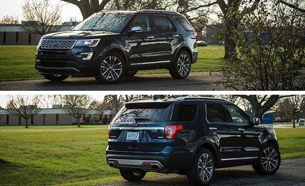 Ford Explorer Reviews Price Photos And Specs Car Driver