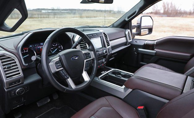 2017 ford f series super duty interior review car and driver 2017 F350 Interior Group