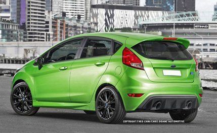 2017 Ford Fiesta Rs Renderings And Details News Car And Driver