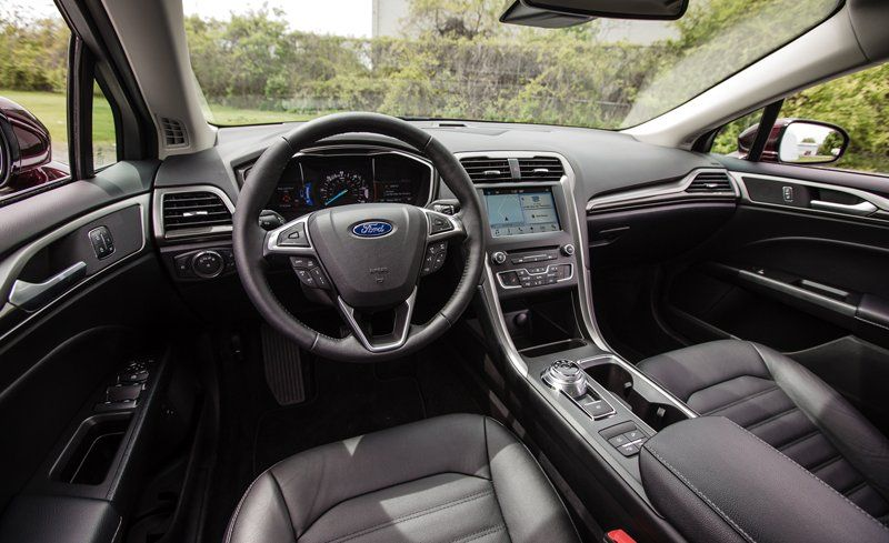 2018 Ford Fusion Interior Review Car And Driver