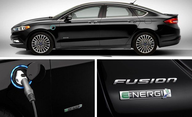 View 9 Photos & 2017 Ford Fusion Energi Plug-In Hybrid First Drive u2013 Review u2013 Car ... markmcfarlin.com