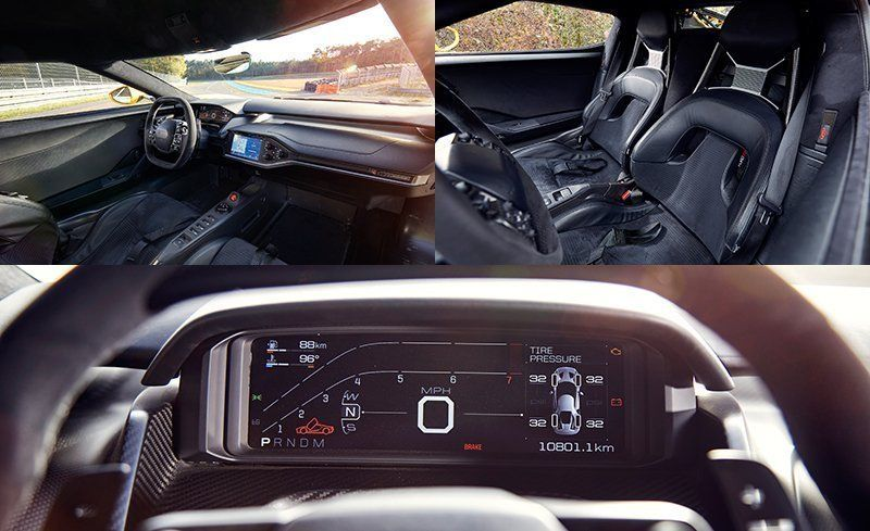 View  Photos The Gts Minimalist Interior Is Cramped But So Are Most Le Mans Cars Fun Fact The Dashboards Main Beam Is Structural