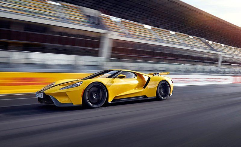 While Many Supercars Have Been Tucked And Tweaked To Spawn Competition Variants The Ford Gt Is A Race Car That Has Been Legalized For Road Use