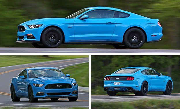 2017 Ford Mustang Coupe And Convertible Review Car And Driver