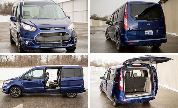 Ford Transit Connect >> 2017 Ford Transit Connect Wagon Lwb Test Review Car And Driver
