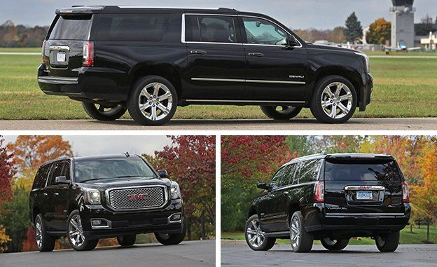2017 Gmc Yukon Xl Denali 4wd Instrumented Test Review Car And Driver