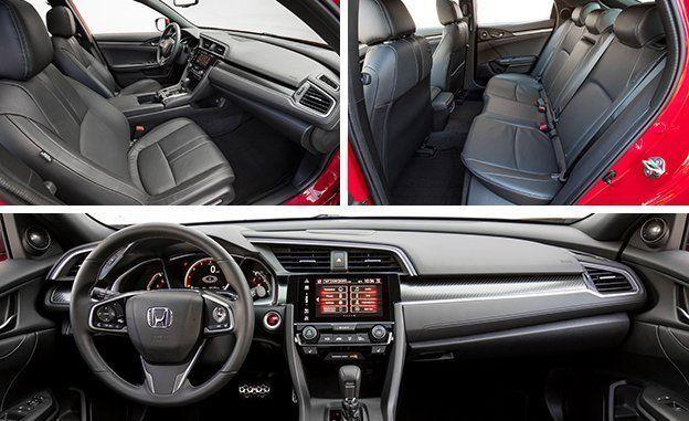 2017 Honda Civic Hatchback Review Car And Driver