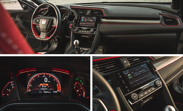 The Latest Civic S 7 0 Inch Capacitive Touch Infotainment System Is Another Bane Of Living With Type R Although It Becomes Less An Issue Once You