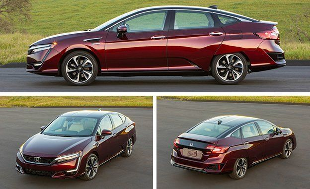 2017 Honda Clarity Fuel Cell First Drive Review Car And Driver