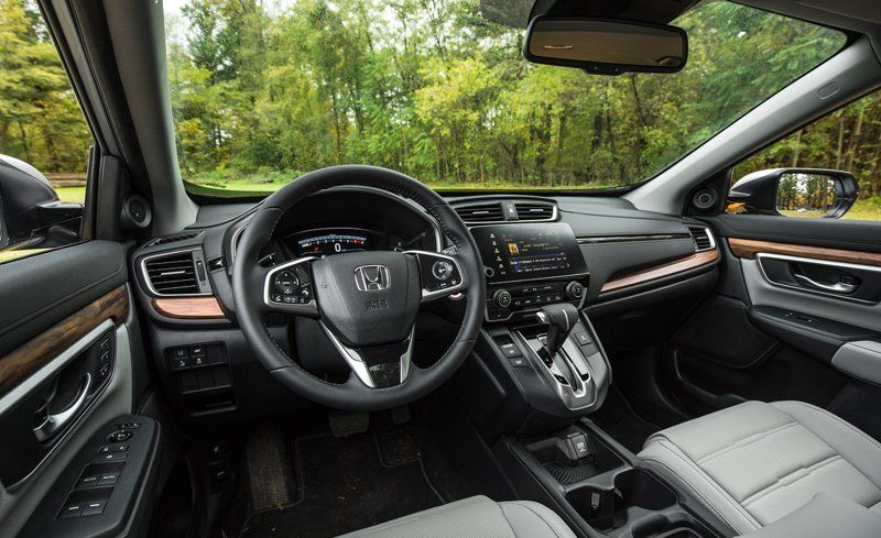 2018 Honda Cr V Interior Review Car And Driver