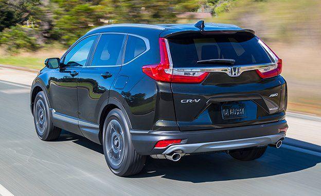 Crv 2017 Review >> 2017 Honda Cr V First Drive Review Car And Driver