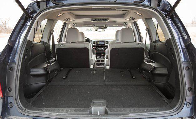 Honda Pilot Interior Dimensions 2017