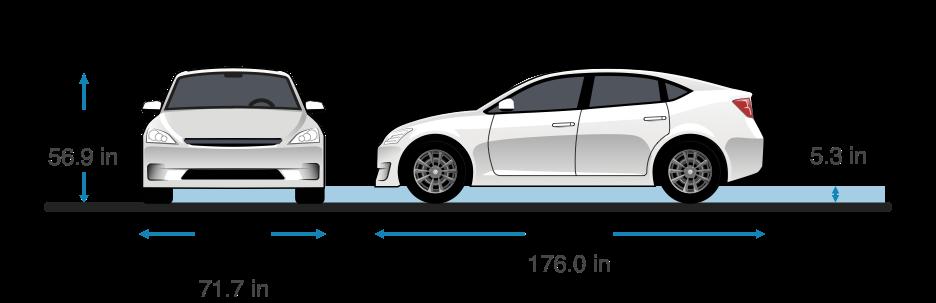 Hyundai ioniq size