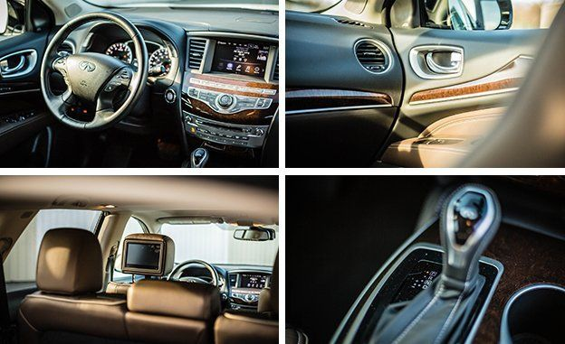 That Being Said Our Loaded Qx60 Awd Test Car Rang The Register At A Hefty 60 545 Thanks To Optional Extras Such As 500 Coat Of Majestic White Paint And
