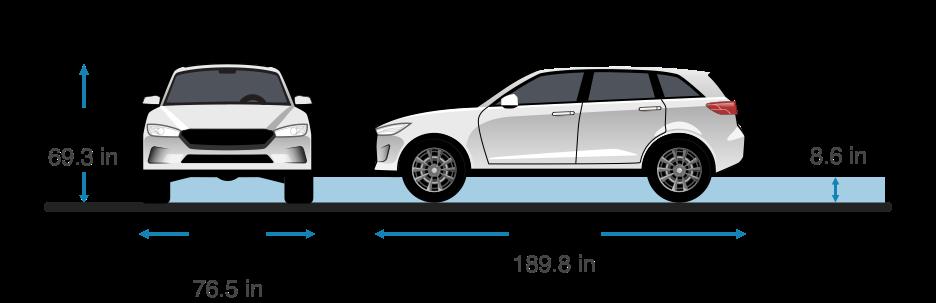 2018 jeep cherokee dimensions