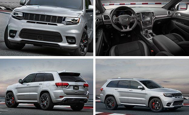2017 Jeep Grand Cherokee Srt Official Photos And Info News Car Driver