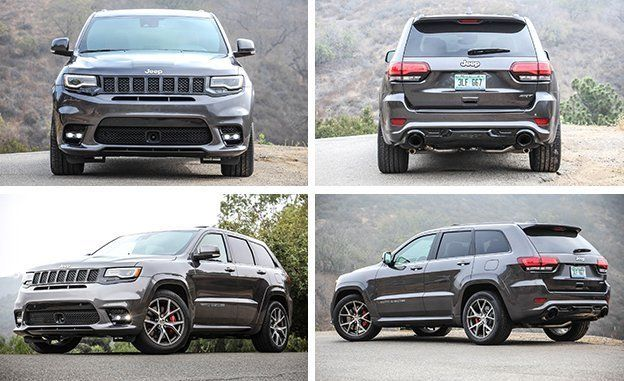 With A Cosmetic Freshening For 2017 The Srt Jeep Has Become Highly Evolved Offering It Is Today