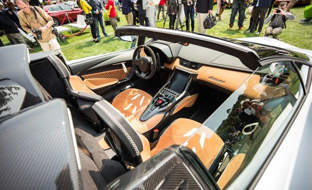 2017 Lamborghini Centenario Roadster Photos And Info News Car