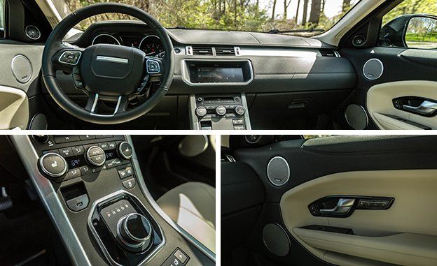 Beyond That Surface Level Eal However The Evoque Falls Short On Functionality Attractive Touchscreen S Menus Can Be Convoluted A North Up Map