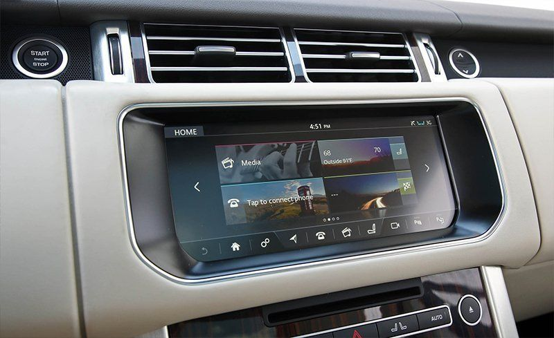 2017 Land Rover Range Incontrol Touch Pro Infotainment Review Car And Driver