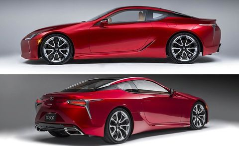 2017 Lexus Lc500 Coupe Dissected 8211 Feature 8211 Car And Driver