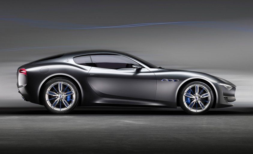 Top of the line maserati