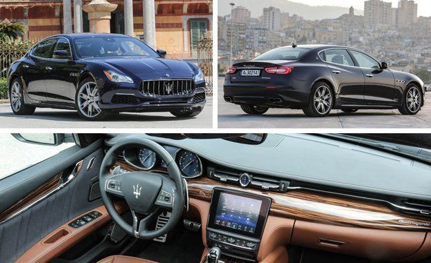 Put The Quattroporte In Same Technology Conversation As German Elishment Compeors Such Bmw 7 Series And Mercedes Benz S Cl