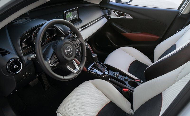 Interior Space Comparisons. The CX 3u0027s ... Photo