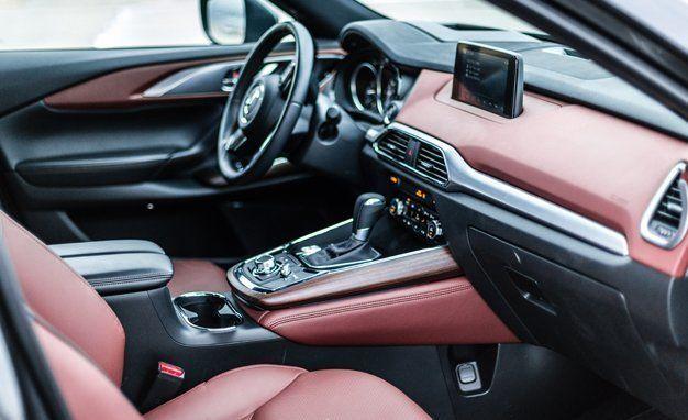 2017 mazda cx 9 interior review car and driver