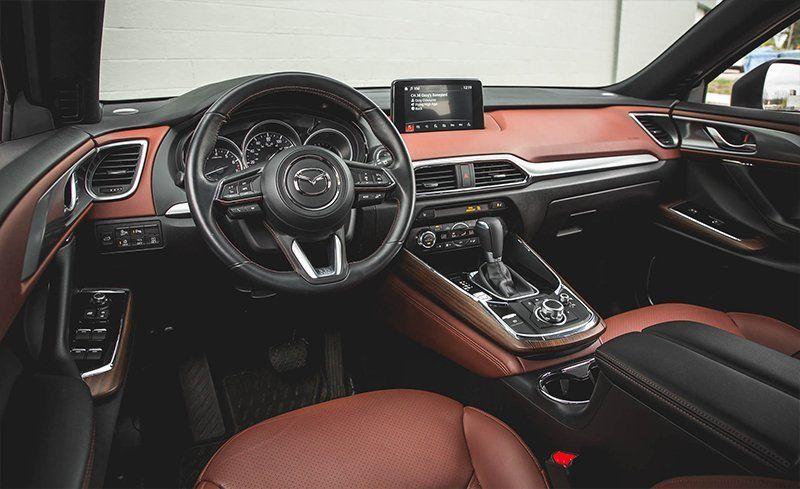 2018 mazda cx 9 interior review car and driver