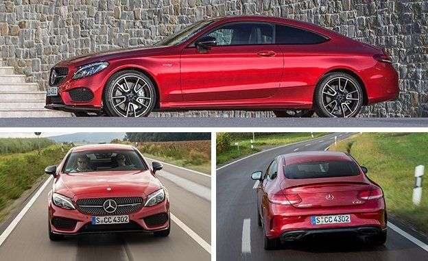 2017 Mercedes-AMG C43 Coupe Driven | Reviews | Car and Driver