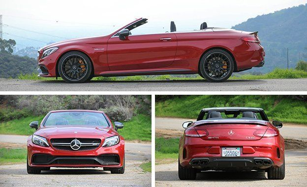2017 Mercedes-AMG C63 Cabriolet Test   Review   Car and Driver