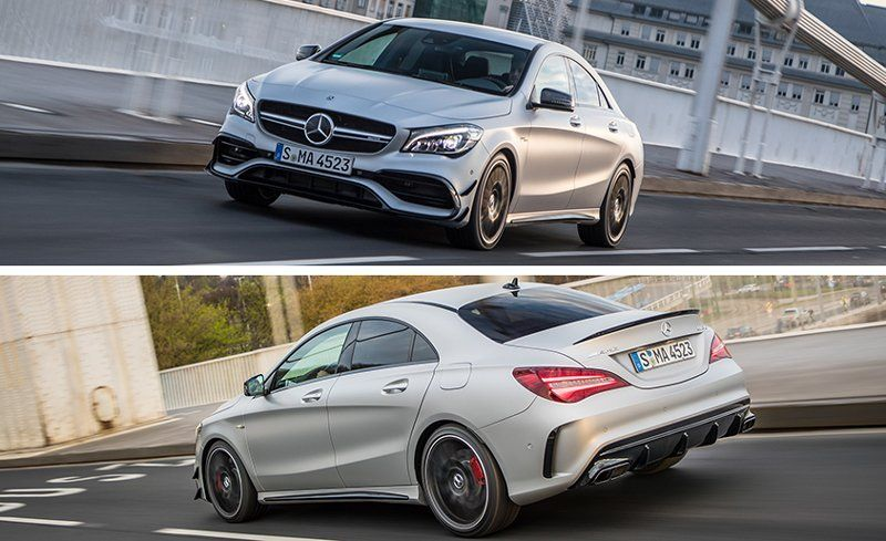 2017 Mercedes Amg Cla45 4matic Test Review Car And Driver