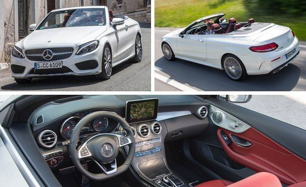 2017 Mercedes Benz C Cl Cabriolet First Drive Review Car And Driver