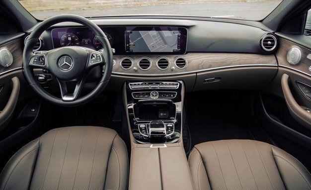2017 mercedes e class interior