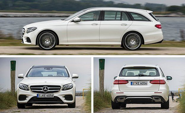 2017 Mercedes-Benz E400 Wagon First Drive | Review | Car and Driver