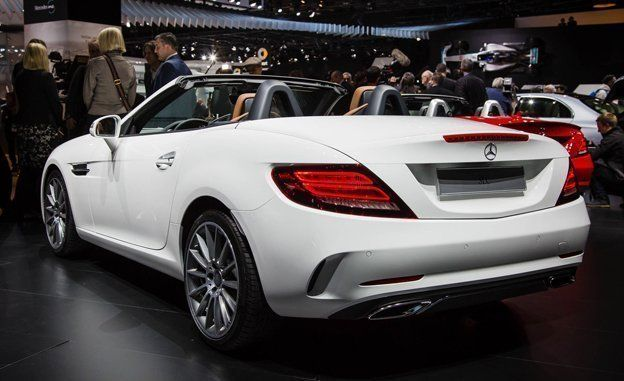 The Mercedes-Benz SLC Is Back To Kill Off The SLK In 2017