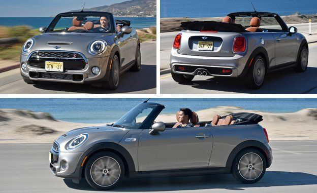 2016 Mini Cooper Convertible First Drive Review Car And Driver