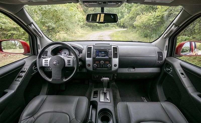 2018 Nissan Frontier Interior Review Car And Driver