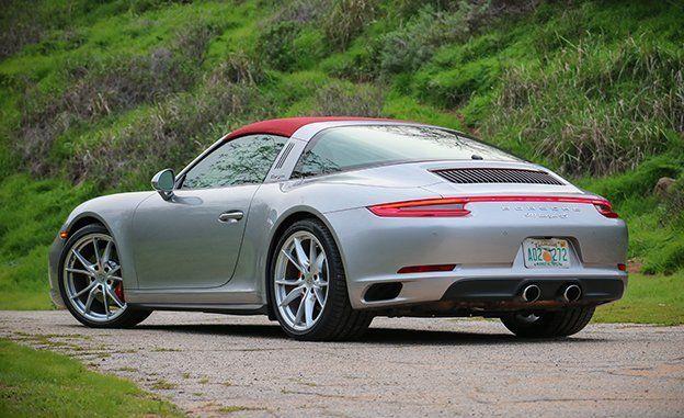 2017 Porsche 911 Carrera 4S Targa Automatic Test | Review | Car and