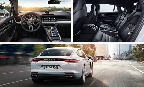 Being Green Is A Lot About Image And To That End The Panamera 4s E Hybrid Features Special Badges Brake Calipers