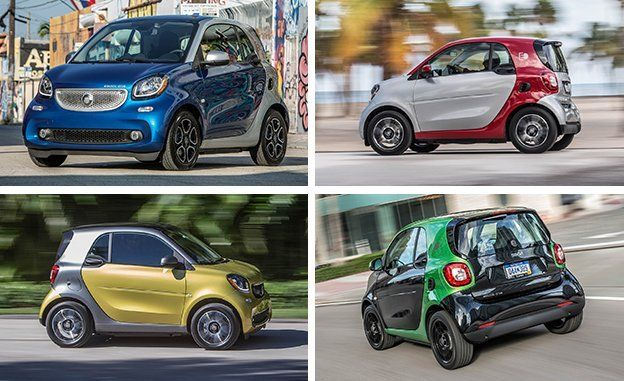 Image result for 2017 Smart Fortwo ED vs VW e-Golf